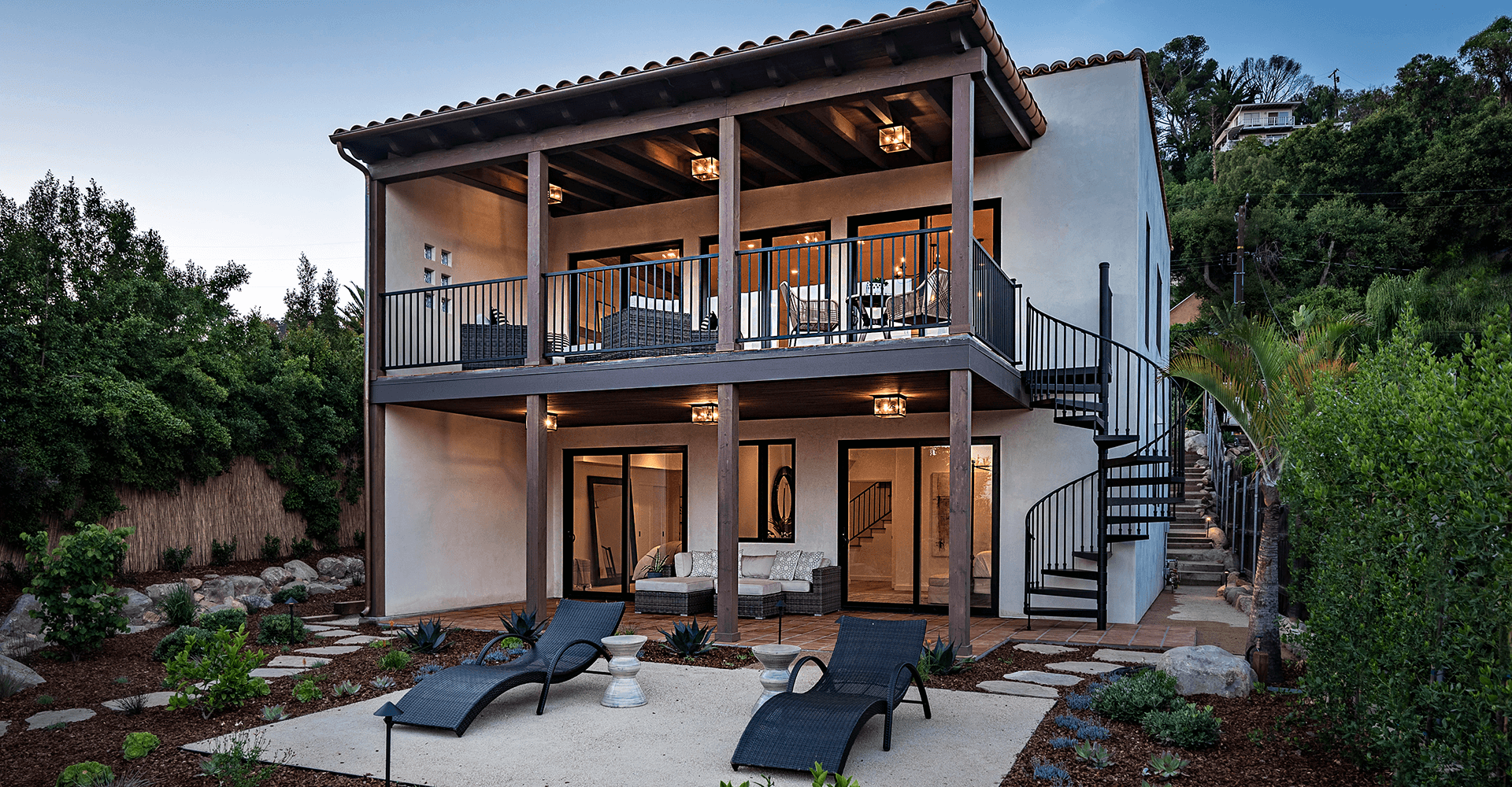 Mission Canyon Spanish Contemporary